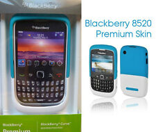 Blackberry 8520 Funda Premium AZUL-BLANCA Original