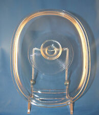Pyrex Clear Glass Lid Replacement Oval F12C 34
