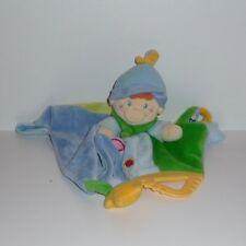 Doudou Bonhomme Mots d'enfants - Bonnet Bleu