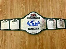 WCW World TELEVISION Wrestling Championship Belt.Adult Size.
