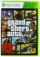 Xbox 360 GTA 5 Grand Theft Auto V NEU OVP USK18
