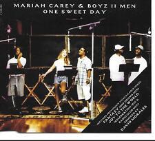 Mariah Carey&Boyz II Men One Sweet Day UK CD Single