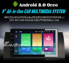 """AUTORADIO Touch 9"""" ANDROID 8.0 OctaCore 4GB-32GB BMW Serie 3 320d E39 E53 X5 ..."""