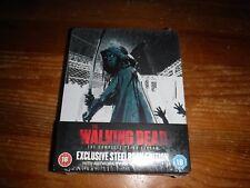 The Walking Dead Season 3 Steelbook BLU-RAY UK New Region B