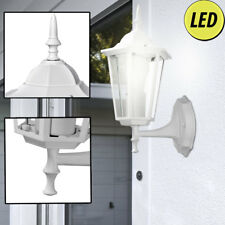LED außen Bereich Wand Strahler Alu Laterne 806 Lumen Terrassen Lampe EEK A