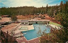 Vintage Postcard; Lolo Hot Springs Resort, Lolo MT Missoula County Posted