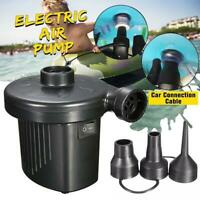 2 In 1 Electric air mattress pump Camping paddling network Inflator
