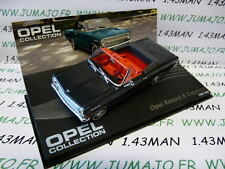 voiture 1/43 IXO eagle moss OPEL collection n°54 : REKORD A cabriolet 1963/1965