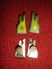 Antica Coppia di Alamari - Distintivi già in uso alla Guardia di Finanza - Epoca