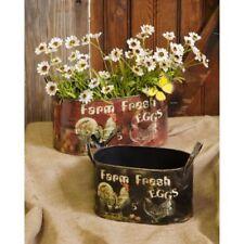 Your Hearts Delight Farm Fresh Eggs - Oval Planters