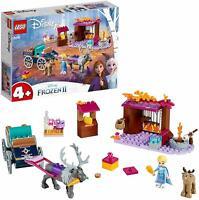 LEGO 41166 Disney Frozen II Movie Elsa's Wagon Adventure Building Toy Playset