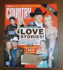 COUNTRY WEEKLY MAGAZINE FEBRUARY 12 2007 LOVE STORIES ALAN JACKSON BRAD PAISLEY