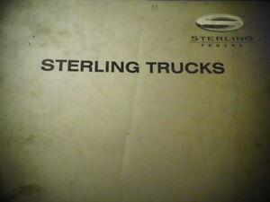Large Sterling Trucks Cargo Workshop Manual Group 00-98
