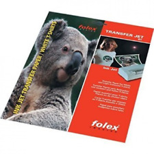FOLEX Transfer Paper for T-shirts A4 Format 10 Sheets - Aa025