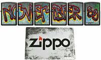 ZIPPO Berlin Wall XXX/300 Limited Edition Sammlerset 30 J. Mauerfall Nov. 1989