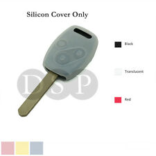 Silicone Cover Holder for HONDA Accord Civic Remote Key Case Fob Entry 3 BTN TR