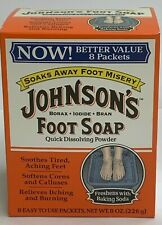 JOHNSON'S FOOT SOAP -  8 Packets