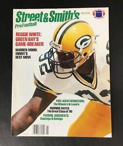 Reggie White Street & Smith's Pro Football Magazine Newsstand No Label Packers