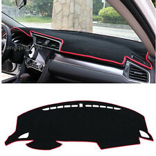 FOR 2016 2017 Honda Civic Inner Dashboard Dash Mat DashMat Sun Cover Pad Red