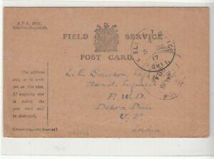 G.B. / Military Mail / Palestine / India