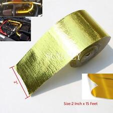 """Secuda Gold Heat Defence Reflective Tape - 2"""" x 15ft"""