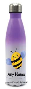 Cute Bee 500ml Personalised Stainless steel Kids Drink Children Water Bottle