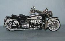 2002 Hot Wheels LE 1:18 Police Harley Davidson Motorcycle Law Enforcers Series