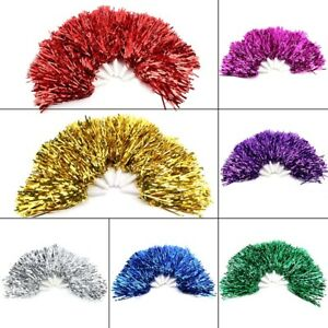 6pcs Lightweight Cheerleading Pom Poms Set Sports Fancy Party Dance Accessories