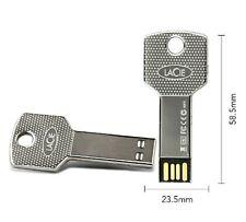 LaCie 32GB Key Style USB Silver Flash Drive