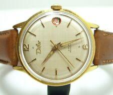 DIFOR MONTRE VINTAGE VERS 1950'S pl or mécanique old watch