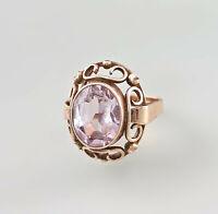 8425146 333er RG Gold Ring Weißer Topas Gr.52