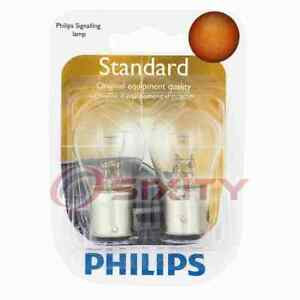 Philips Front Turn Signal Light Bulb for Asuna Sunfire 1993 Electrical eo