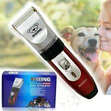 Kit tosatrice per cani tosatore doppia batteria ricaricabile 4 pettini RFCD-D11
