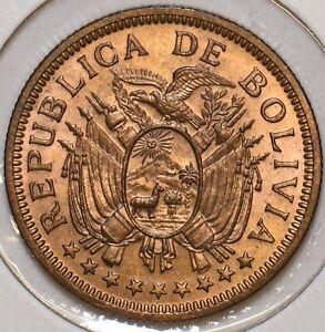 Bolivia 1951 KN 5 Bolivianos 296887 combine shipping