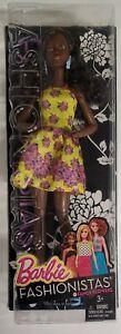 2015 Barbie Fashionistas Fancy Flowers Doll Number 20 Mattel NIB