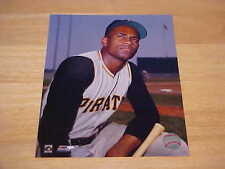 Roberto Clemente Pirates Off. LICENSED 8x10 Color Photo  FREE SHIPPING 3/MORE