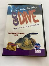 Padi Go Dive Open Water Diver - Scuba Diving Instruction Dvd B442