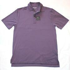 New Bobby Jones X-H20 Polo Golf Shirt Men's Medium M Purple Polyester Spandex Ss