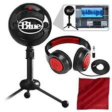Blue Snowball Studio Usb All-In-One Vocal Recording System with Samson Dynamic H