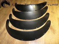 JDM Fender Flares UNIVERSAL Wheel arches 4.72 in extra Wide 4 pieces set  BXG