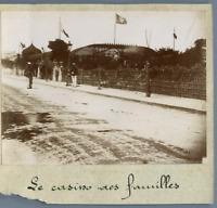 Tunisie, Tunis, La Goulette (حلق الوادي), Le Casino des Familles  Vintage citrat