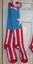 Captain America Super Hero Knee High Socks - Marvel Socks NEW - Unisex