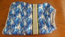 Top Paw Reflective Unisex Dog Jacket  XXL Blue Camo