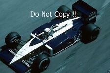 Riccardo Patrese Brabham BT56 Monaco Grand Prix 1987 Photograph
