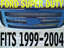 Ford black Grille CONVERSION Fits 1999-2004 Super Duty 2005 2006 2007 F250 F350