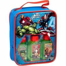 NEW Marvel Avengers Assemble Travel Bath Gift Set 4 Pc