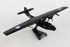 """POSTAGE STAMP (PS5556-6) RAAF PBY-5A """"BLACK CAT"""" 1:150 SCALE DIECAST METAL MODEL"""