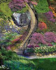 Springbok's 500 Piece Jigsaw Puzzle Garden Stairway