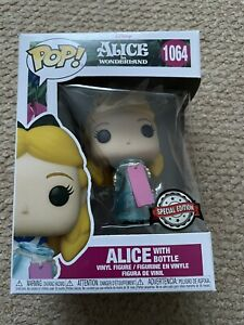 Funko Pop Disney Alice In Wonderland With Bottle 1064