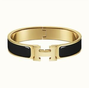 Clic Clac H Bangle Bracelet Enamel Bracelet - PM